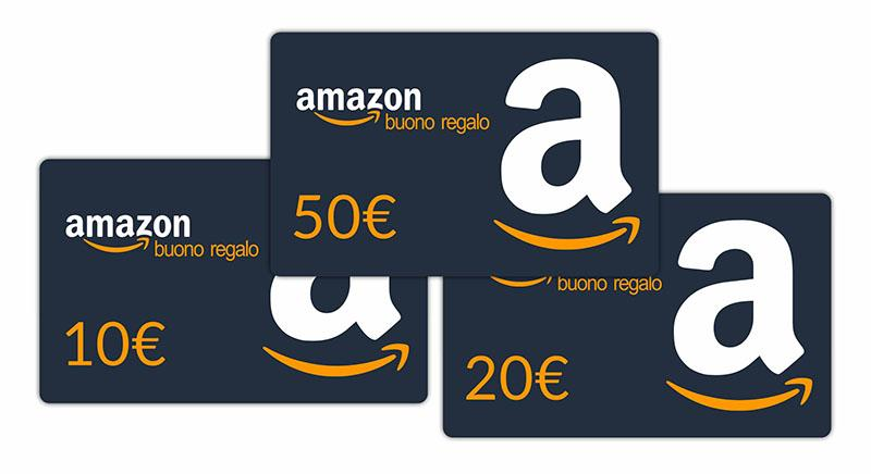 amazon weedly buoni regalo